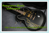 Wholesale Retail Musical Instrument ES 335 Jazz Electric Guitar Chinese B B King Signature With Hardcase