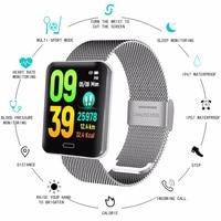 New Smart Watch Color Heart Rate Blood Pressure Tracker Sport Step Counter Smart Bracelet Sleep Activity Tracker