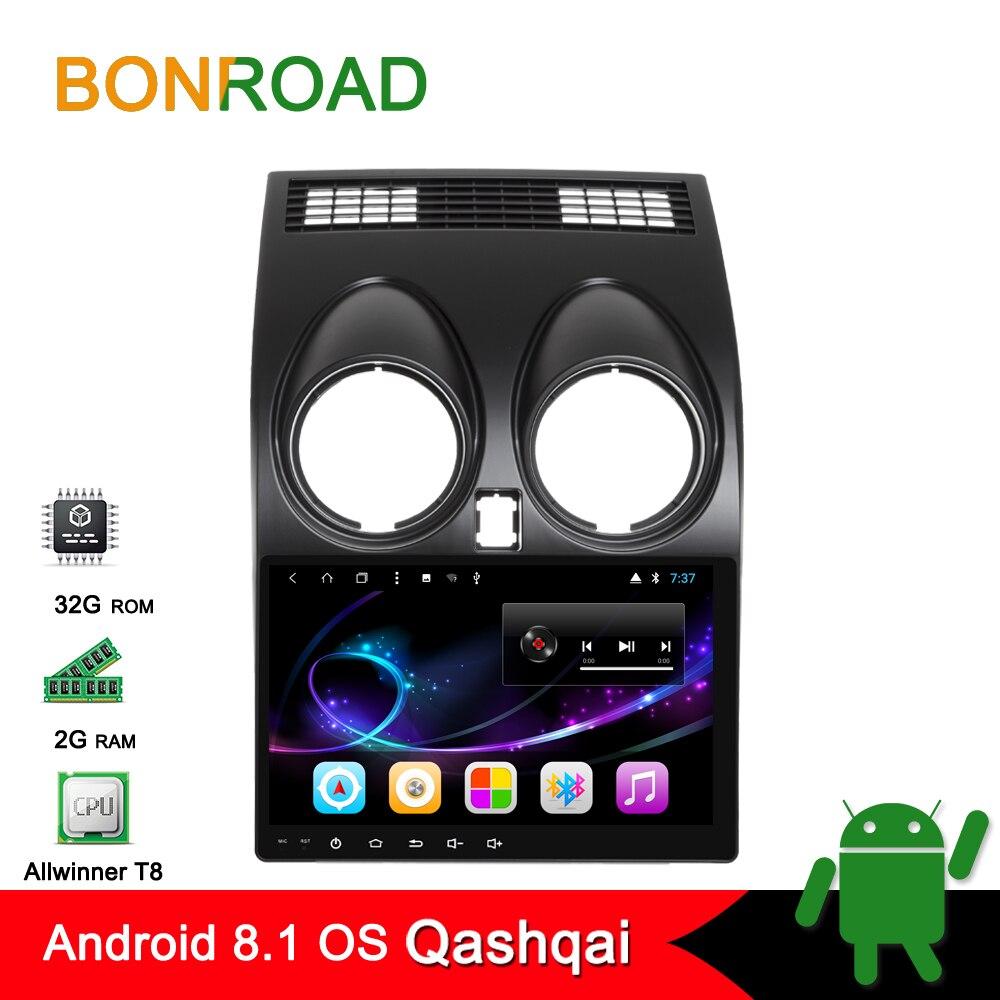 Bonroad 9 Android8 1 0 Car DVD Multimedia Player For Nissan Qashqai 2010 Dualis 2007 2014