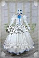 Игровая карта аниме Captor Sakura daiduji Tomoyo Lolita полное платье униформа для косплея любой размер Новый