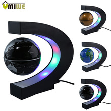 Magnetic Globe World Map With LED Light Home Decoration