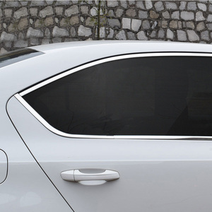 Image 4 - Vtear For Skoda Octavia A7 window trim cover MK3 Exterior Chromium Styling car styling decoration accessories parts 2017 2018