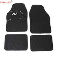 kalaisike universal car floor mats for Jaguar All Models F PACE XF XFL XE XJ6 XJL car styling car accessories