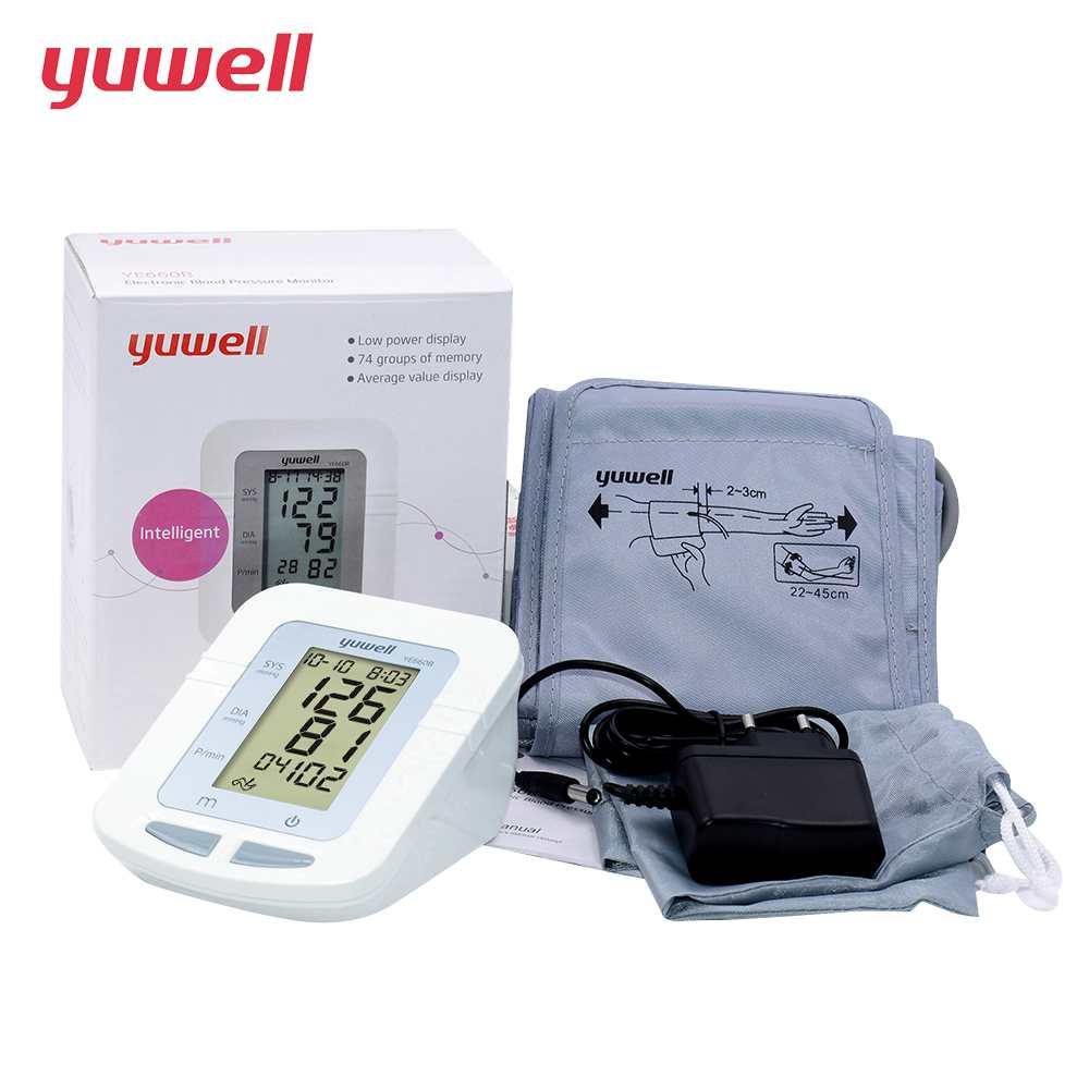 YUWELL Grande Polsino blood pressure monitor heart rate monitor sfigmomanometro automatico attrezzature mediche strumento di Diagnostica 660B