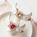 Anime Card Captor Sakura CARDCAPTOR SAKURA Heart Wing Love Pendant Bracelet Chain Gift