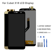 Original For Cubot X18 LCD Display Touch Screen Digitizer Assembly For Cubot X18 Display Screen LCD Free Tools все цены