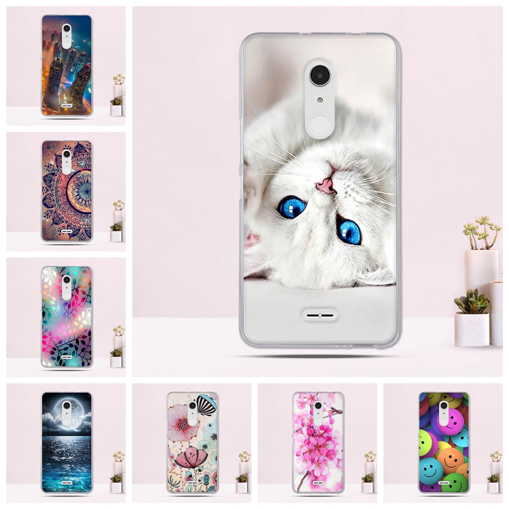 Silicone TPU Phone <font><b>Cases</b></font> For <font><b>Alcatel</b></font> <font><b>A3</b></font> <font><b>XL</b></font> 6.0 inch <font><b>Case</b></font> 3D Luxury Cute Flower Fundas Soft Ultra Thin Covers Pattern <font><b>Case</b></font> image