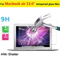 """13.0"""" 0.3mm 9H 2.5D Explosion-proof Tempered Glass film for Macbook air 13inch tablet Anti-shatter screen protector HD LCD films"""