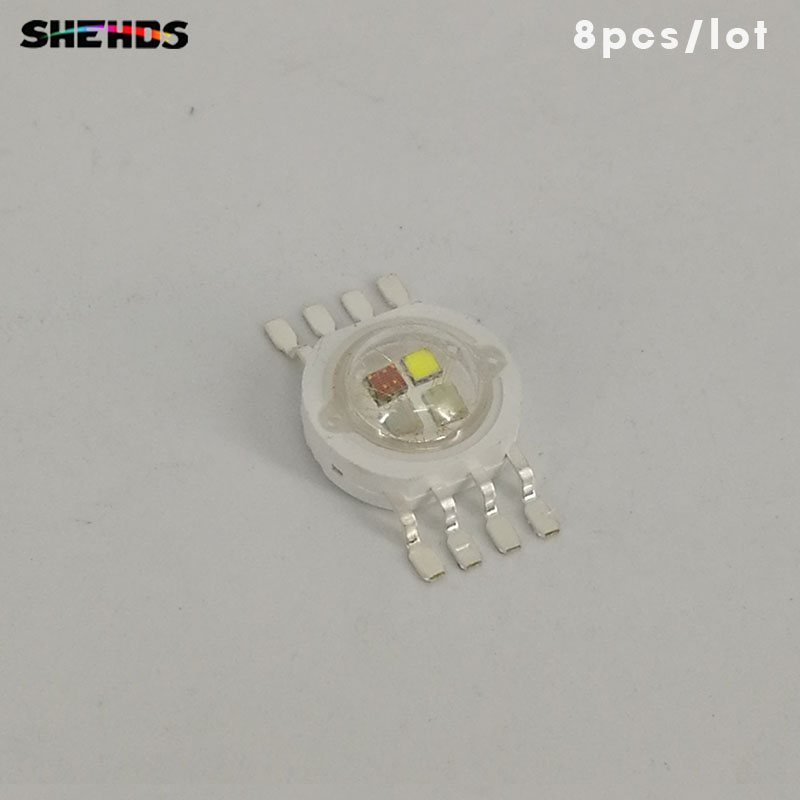 8pcs/lot LED RGBW 4in1 For LED RGBW Lighting  LED Chips Red/green/bule/white Fast Shipping,SHEHDS