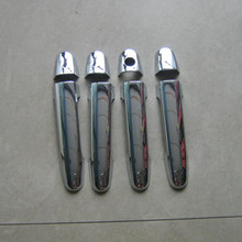 Dongzhen 8pcs Car Door Handle Cover Trim Sticker Fit For Baojun 630 ABS Chrome Car Styling Exterior Accessories Auto Decoration
