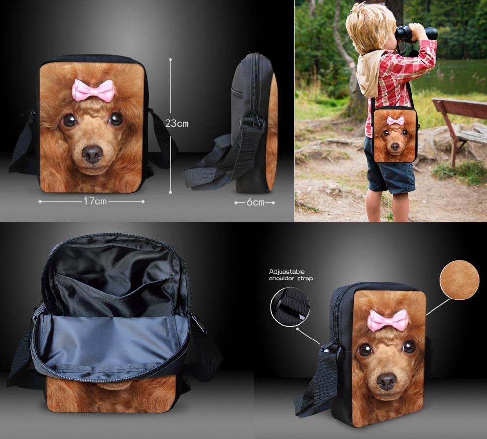FORUDESIGNS Women Messenger Bags 3D Denim Animal Shoulder Bag - Պայուսակներ - Լուսանկար 3