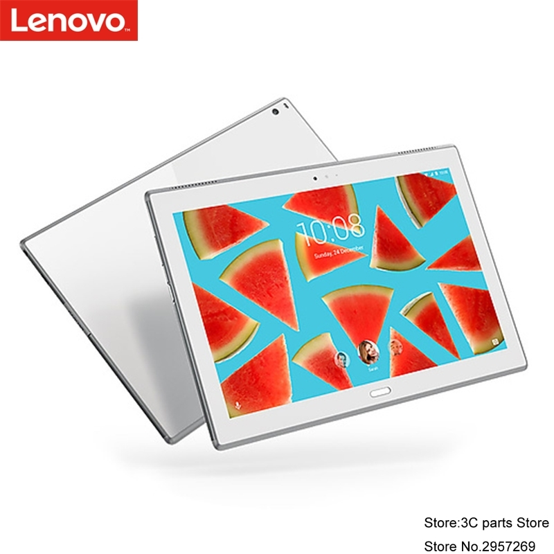 NEW Lenovo Tab 4 10 plus X704N 10 inch Android 7.1 LTE Tablet 4GB 64G Qualcomm 8953 Fingerprint Double-sided glass design CH