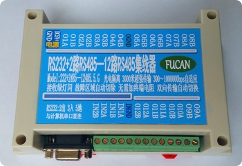 232 to 485 converter 3 tows 12 routes 485 hubs 16 routes 485 repeaters 16 ports 485 hubs Guide