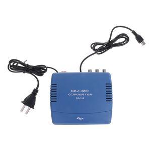 AV-RF конвертер телевизионная система ТВ сигнал стандартный аудио видео сигнал модулятор ТВ 220В стерео двойной трек F42D Прямая поставка