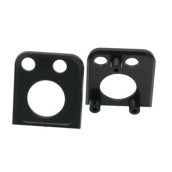 2PCS Front Lamp Shade Front Cover For Rc Hobby Model Car 1/10 Traxxas Trx-4 Land Rover Version Crawler RCAWD T8636 image