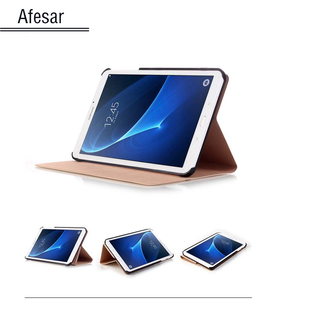 SM T280 T285 Case cover- Tab A A6 7.0 inch Ultra Slim Lightweight Stand smart Cover Case For Samsung Galaxy Tab A 7 Tablet wireless bluetooth keyboard pu leather cover protective smart case for samsung galaxy tab s3 t820 t825 9 7 inch tablet gift