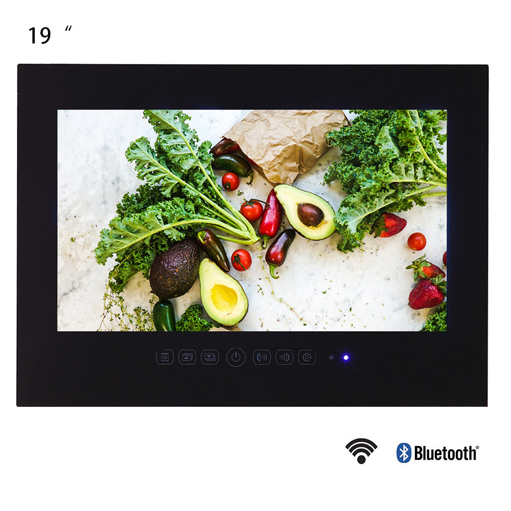 Souria 19 Inch Android 9.0 Smart Waterproof LED TV For Bathroom LCD Monitor WIFI HD Home Television WIth Internet