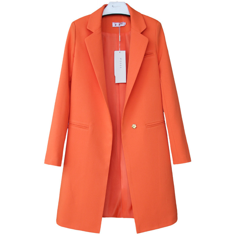 2018 Frühling Herbst Blazer Frauen Kleine Anzug Plus Größe Langarm Jacke Casual Tops Weibliche Dünne Wilde Blazer Windjacke Mantel Mit Den Modernsten GeräTen Und Techniken