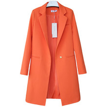 2020 Spring Autumn Blazers Women Small suit Plus size Long sleeve jacket Casual