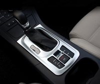 Interior ABS matte Console Gear Position Panel Decorative Cover Trim 1pcs For MG GS 2015 2016 2017