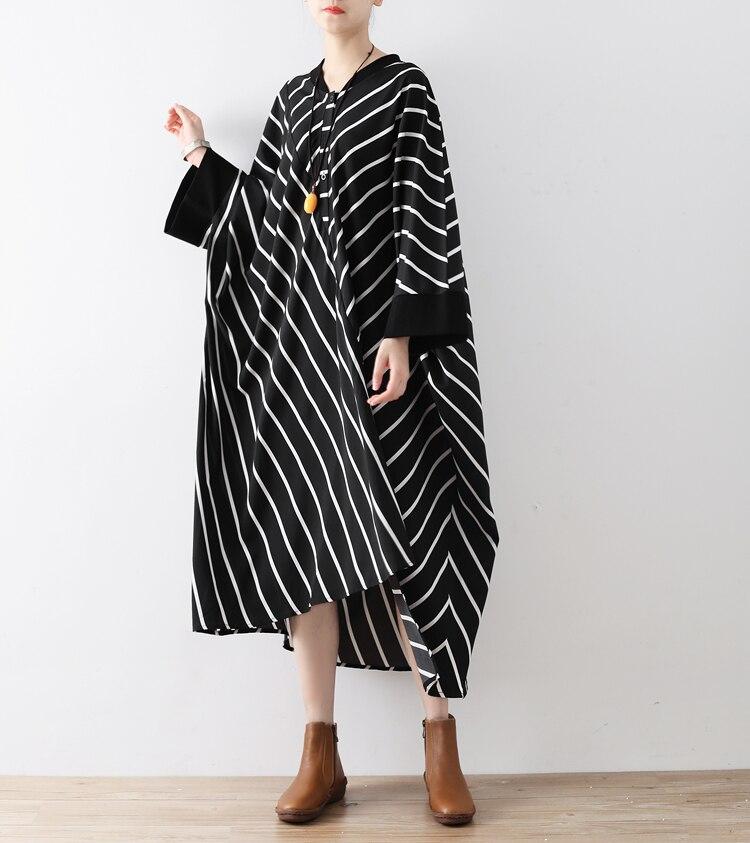2017 grande taille robe grande taille femmes vêtements 5XL 6XL 7XL robes noires pour femmes femmes manches chauve-souris lâche Vintage Vestidos