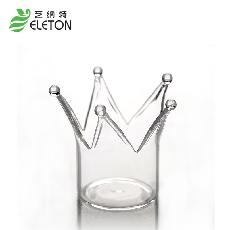 ELETON European <font><b>candle</b></font> <font><b>holder</b></font> crystal <font><b>glass</b></font> candlestick crown <font><b>design</b></font> <font><b>romantic</b></font> luxury birthday gift wedding gift ornaments