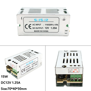 Трансформаторы от 220 В до 12 В для светодиодной полосы света лампы DC 5 в 12 В 24 В 3A 5A 10A 15A 20A 5 12 24 В Вольт Светодиодные полосы питания адаптер питан...