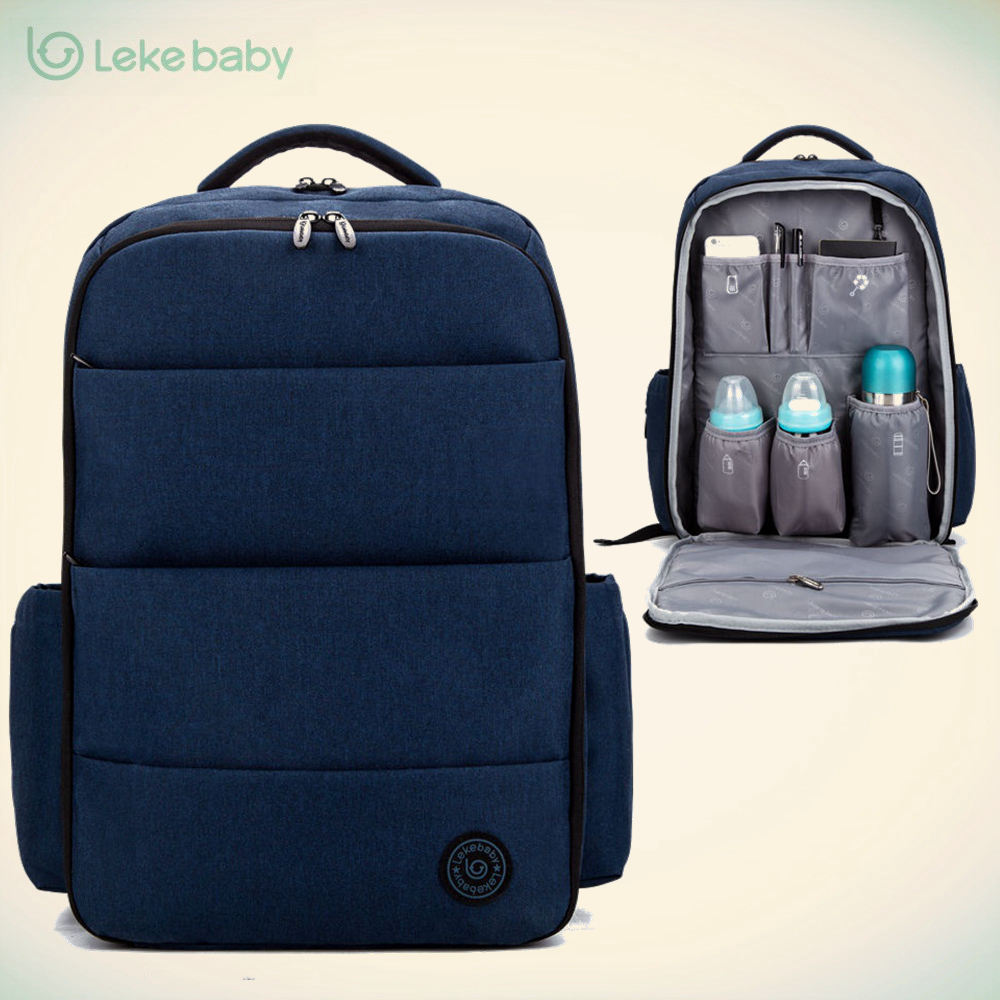 Lekebaby baby travel stroller nappy mummy maternity diapering diaper tote bag backpack for moms daddy baby