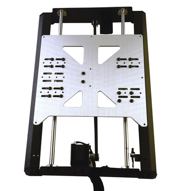 3D printer accessory heat platform for Prusa i3 Z-axis V3 heatbed hot bed Aluminum alloy support plate 220*220mm 3d printer accessory hot bed aluminum heating base board silver