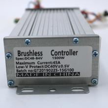 Greentime Высокое качество 48 в 1000 Вт 45Amax BLDC контроллер скорости двигателя Датчик/датчик меньше контроллер скутера электрического велосипеда