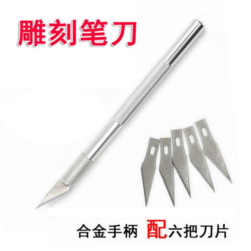 Diskret Modell, Der Werkzeug Gravur Bleistift Schneiden Messer, Papier-cut High-präzision Handy Film-kleben Unterstützung Anpassung