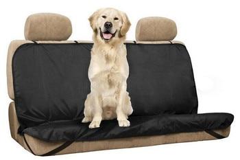 כיסוי מושב רכב מושב מכסה ספסל אחורי עמיד למים לחיות מחמד חיות מחמד חתול/כלב מחצלת נגד אבק מגן עם חגורות מושב מכונית סדאן