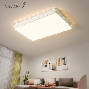 Image 2 - Vissanfo מודרני 220v הר פלאש led תקרת אורות סלון חדר שינה אור גופי שלט רחוק מטבח מנורה