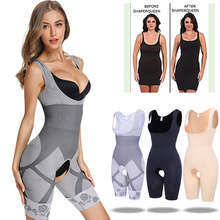 Miss Moly Womens Full Body Slimming Underwear Bodysuit Shaper Waist Shapewear Postpartum Recovery