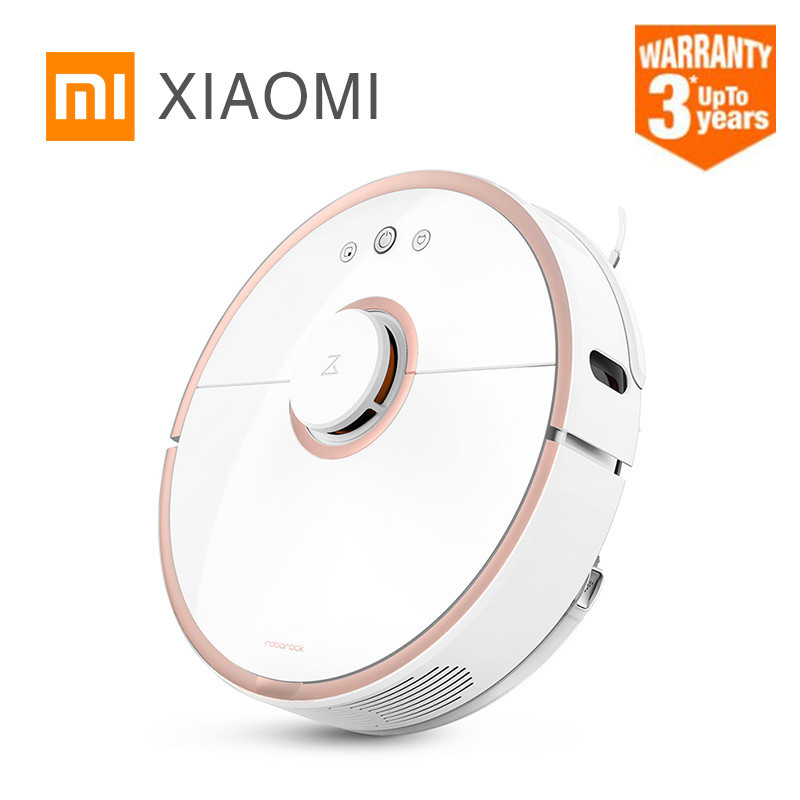 2018 Roborock S50 S51 Xiaomi MI Robot Vacuum Cleaner 2 for Home Automatic Sweeping Dust Sterilize Smart Planned Washing Mopping цена и фото