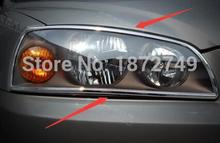 Для Hyundai Elantra 2005 ABS Хром Передней Фары Охватывает, автомобиль Свет Маска