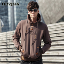 2017 New Brand Mens Fashion Sweatshirts And Stylish Hoodies Sudaderas Hombre Hip Hop Black Cloak Hooded Male Casual Jacket 1