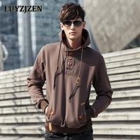 Mens Fashion Sweatshirts And Hoodies Sudaderas Hombre Hip Hop Black Cloak Hooded Male Casual Jacket 1