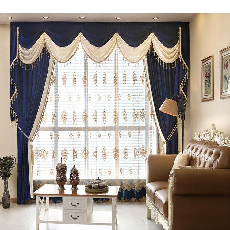 nieuwe italiaanse fluwelen flanel gordijnen effen kant volant gordijn voor beddengoed kamer cortina custom de porduct in nieuwe italiaanse fluwelen flanel