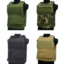 Tactical Vest Amphibious Battle Military Molle Combat Assault Plate Carrier Hunting Protection Stab-resist Camouflage