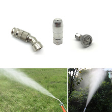 Adjustable Misting Nozzle Garden Agricultural Sprayer Nozzle High Pressure Water Irrigation Sprinkler Fittings Accessories sprayer accessories imported germany high atomization nozzle high pressure fan shaped