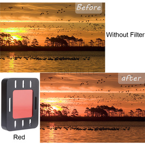 Image 3 - Action Camera Filter For Sony HDR AS50 AS300 AS300R Polarizing UV ND Filters For Sony MPK UWH1 Waterproof Diving Housing Case