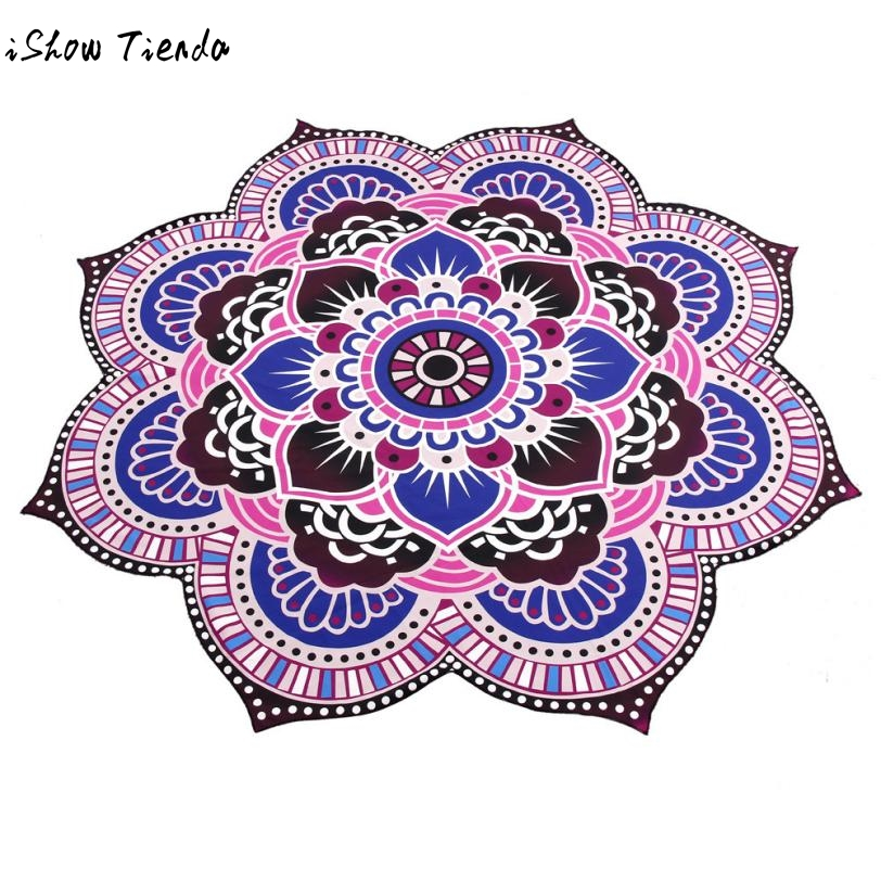 Drop Shipping Sunbath Beach Towels Mandala Towel Yoga Mat Beach Pool Home Table Cloth Yoga Mat Dresses Telo Mare