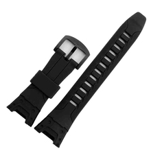 The latest! Natural Silicone Rubber Watch Band Accessory For Casio