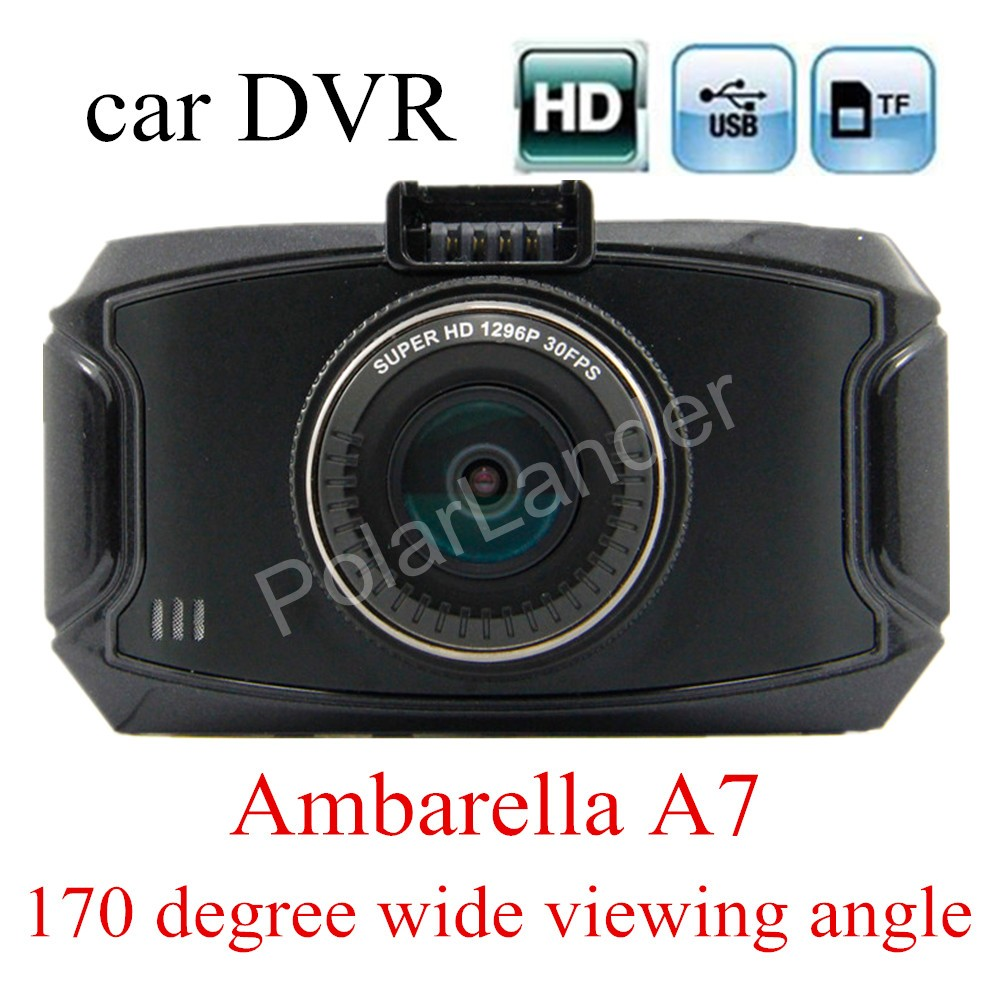 ФОТО factory price sale 2.7 inch Ambarella A7 Car Camera DVR Recorder G90 HD 170 degree Wide viewing Angle Night Vision