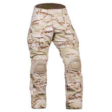 Снаряжение Emerson G3 брюки с наколенниками боевые тактические страйкбол брюки EM7042 Мультикам Arid MCAD CP