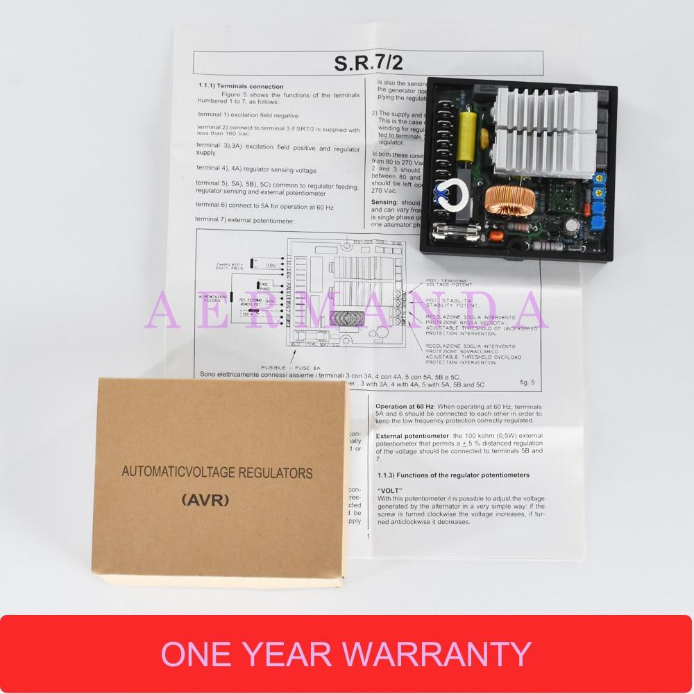 Automatic Voltage Regulator Avr Sr7 2g For Mecc Alte Meccalte Wiring Diagram 15 11 12 13 14 16