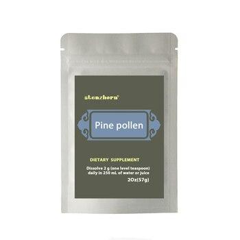 PINE POLLEN 2Oz 57g  Pine pollen contains great anti-oxydation ingredients natural vitamineA, C, E, phospholipid two packs of jiangsu anhui shipping matsuki eijisa 6l 2 82kg lemon pine natural deodorant