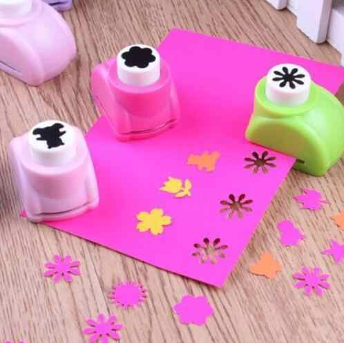 1 PCS Kid Kind Mini Afdrukken Papier Hand Shaper Plakboek Tags Kaarten Craft DIY Punch Cutter Tool 16 Stijlen