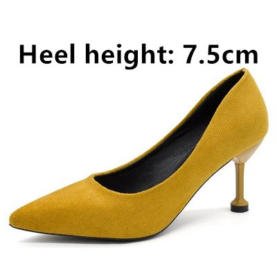 adb18767e9d Cresfimix women fashion sweet spring & summer slip on high heel ...